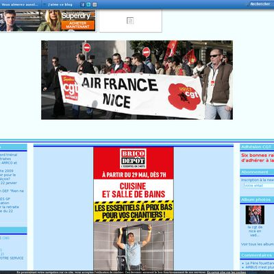 CGT AIR FRANCE Section Nice