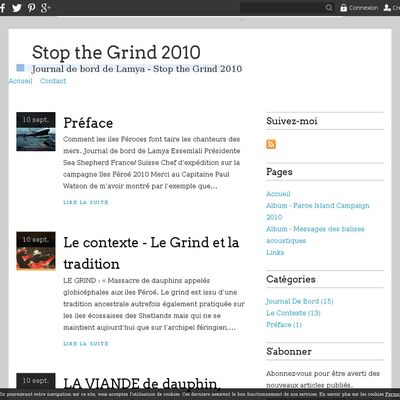 Stop the Grind 2010
