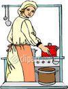 La cocina de mama y papa