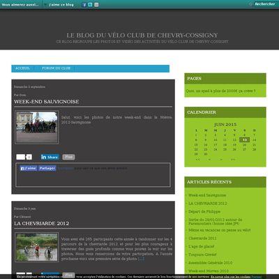 Le blog du Vélo Club de Chevry-Cossigny