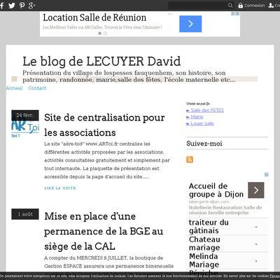 Le blog de LECUYER David