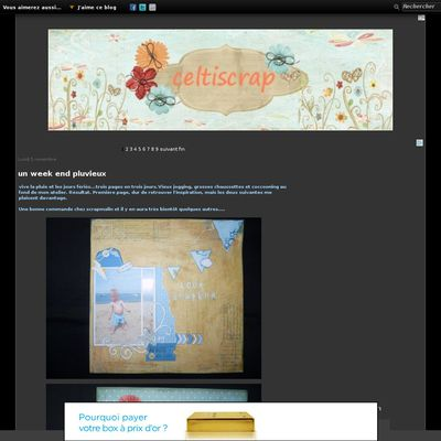Le blog de celtiscrap