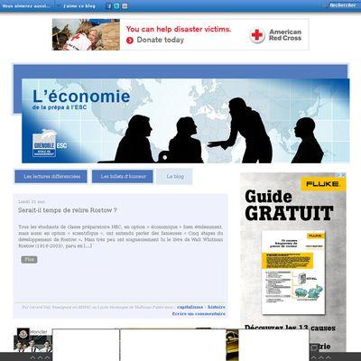 Le blog Enjeux et Débats Economiques de l'ESC Grenoble