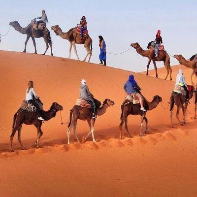 Viaje de 7 Dias desde Marrakech al Sahara
