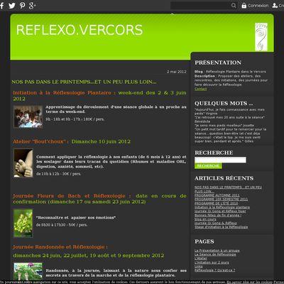Réflexologie Plantaire dans le Vercors