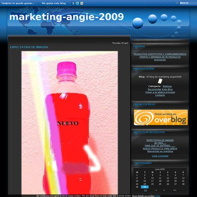 El blog de marketing angie2009