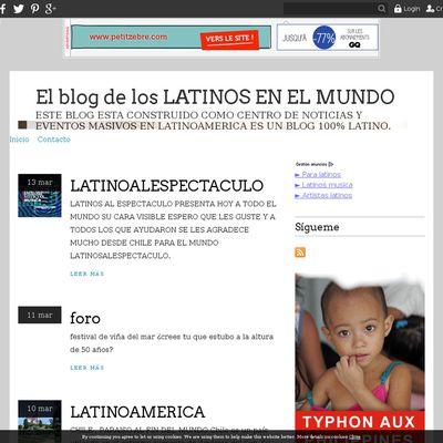 El blog de los LATINOS EN EL MUNDO