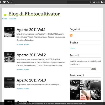 Blog di Photocultivator