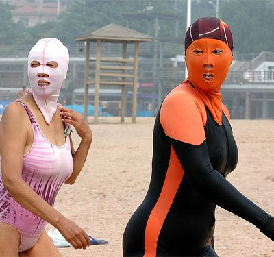 NMF, le Face-kini : les power rangers de la playa !