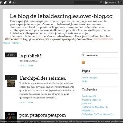 Le blog de lebaldescingles.over-blog.com