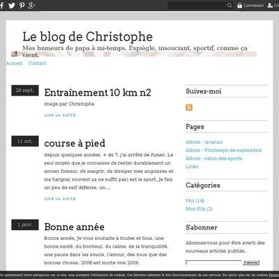 Le blog de Christophe