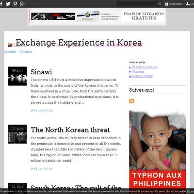 Exchange Experience in Korea