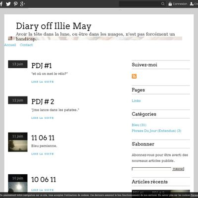 Diary off Illie May