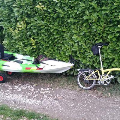 aller au boulot en kayak