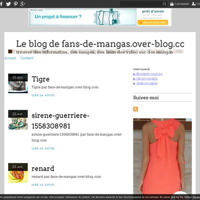 Le blog de fans-de-mangas.over-blog.com