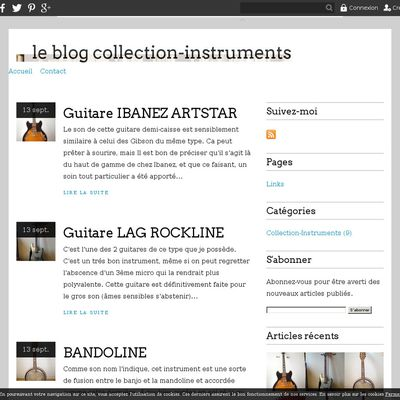 le blog collection-instruments