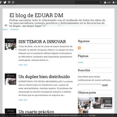 El blog de EDUAR DM