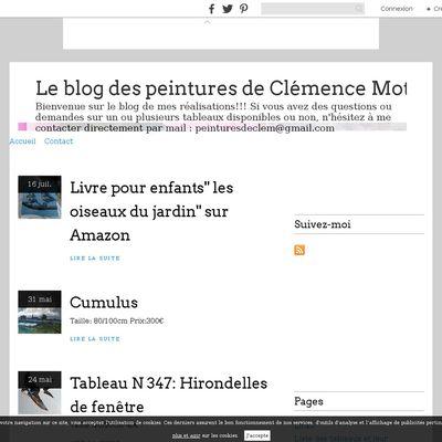 Le blog des peintures de Clémence Motte
