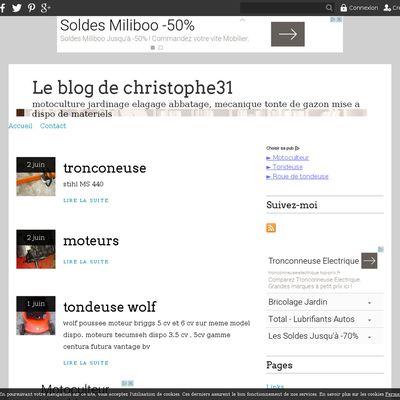 Le blog de christophe31