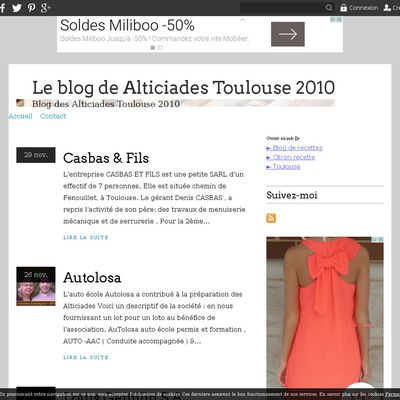 Le blog de Alticiades Toulouse 2010
