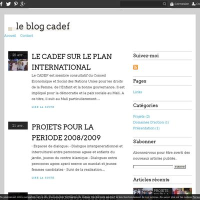 le blog cadef