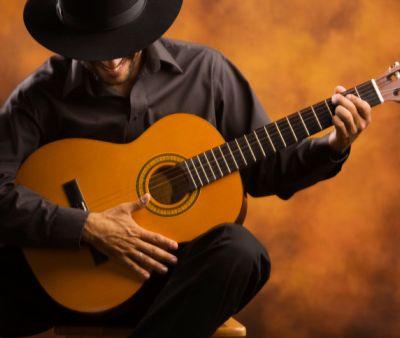 Cours de guitare et Jim.