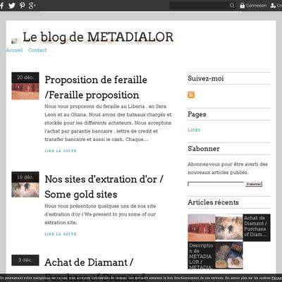 Le blog de METADIALOR
