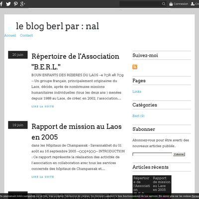 le blog berl par : nal