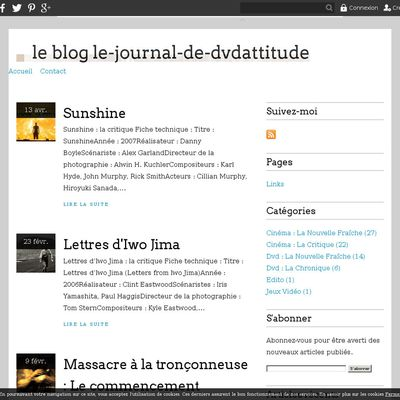 le blog le-journal-de-dvdattitude