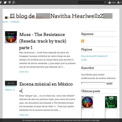 El blog de ||||||||||||Navitha HearlwellzZ|||||||||||