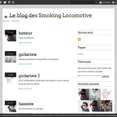 Le blog des Smoking Locomotive