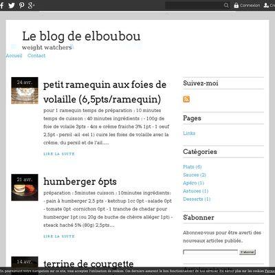 Le blog de elboubou