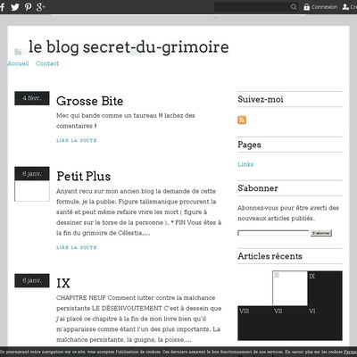 le blog secret-du-grimoire