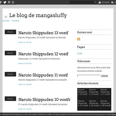 Le blog de mangasluffy