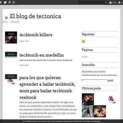 El blog de tectonica