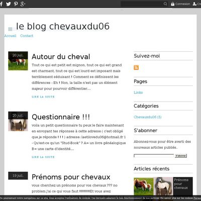 le blog chevauxdu06