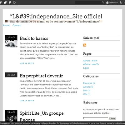 *L'independance_Site officiel