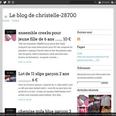 Le blog de christelle-28700