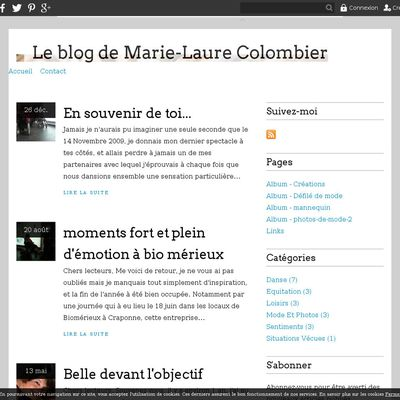 Le blog de Marie-Laure Colombier