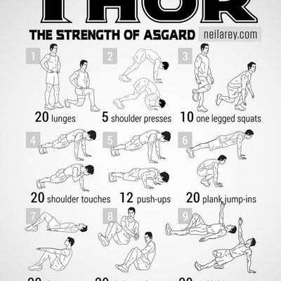 Cardio & abs routines   exercices