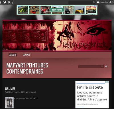 mapyart peintures contemporaines