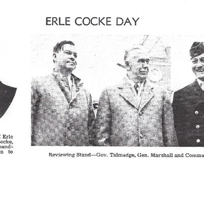Erle Cocke, Jr Day Celebration