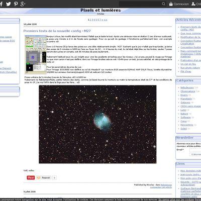 Imagerie digitale astronomie et nature