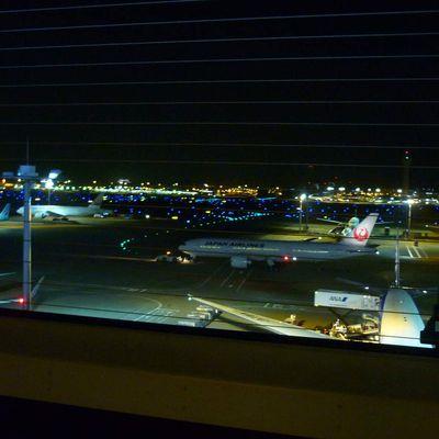 Fin du voyage, aéroport de Tokyo