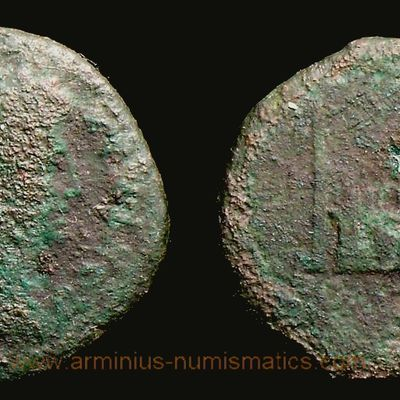 Augustus, 15-10 BC., Lugdunum mint, As, RIC 230 var.