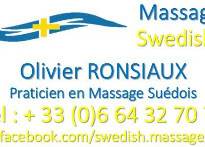 French Touch : Swedish & Californian MASSAGE PARIS et Haut de Seine