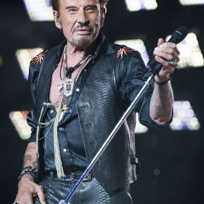 Croix guitare Johnny hallyday rock