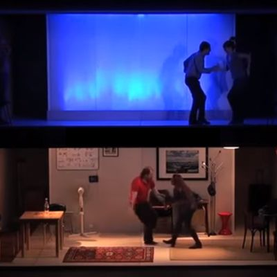 """Théâtre et Cinéma dans """"Cinéastas""""."""