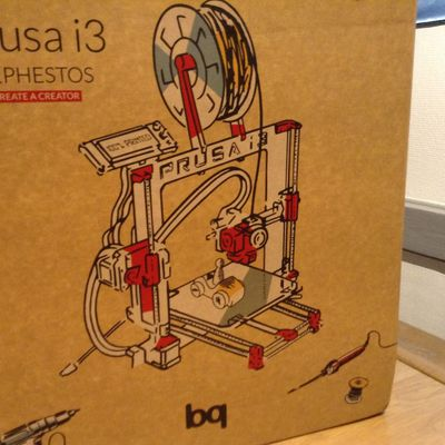 Mon imprimante 3D Prusa I3