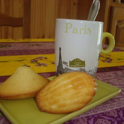 Madeleines pur beurre